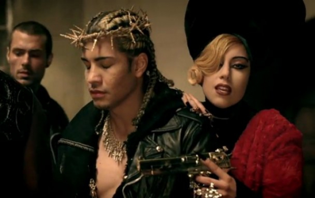21754092 image of judas music video for fans of lady gaga