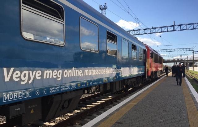 Інтерсіті Мукачево – Будапешт виходить на старт: Цієї неділі офіційно запустять потяг до Угорщини
