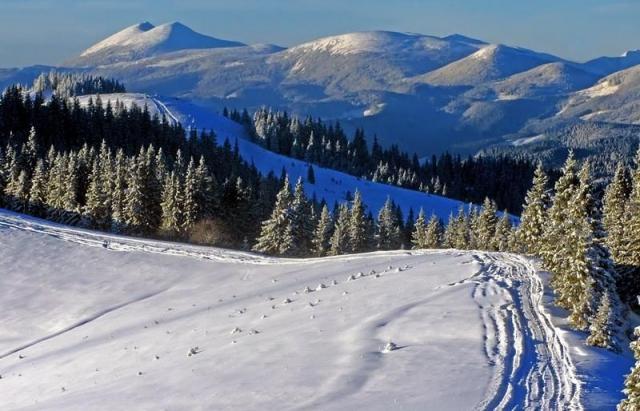 На Закарпатті вже намело до півтора метра снігу