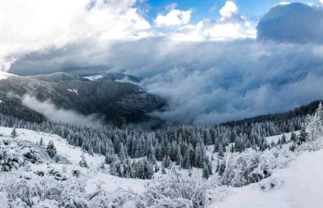 Тиждень на Закарпатті прогнозують хмарний, з дощем та снігом