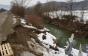 На Перечинщині частина дороги обвалюється в ярок з водою (ФОТО)