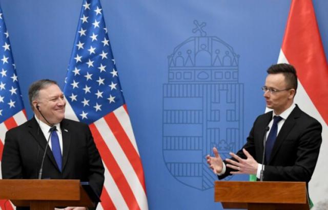 Держсекретар США обговорив з Сіярто підтримку України