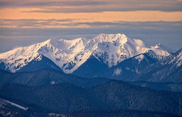 Закарпатський фотограф опублікував неймовірні світлини зимових Карпат (ФОТО)