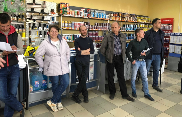 Колектив «БеркутБуду» провів День філії в Ужгороді та долучився до озеленення міста (ФОТО)