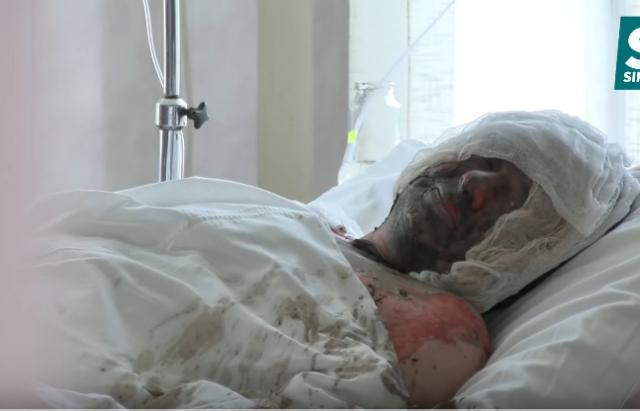Самоспалення на Мукачівщині: сусіди розповіли про сварку в сім'ї постраждалого (ВІДЕО)