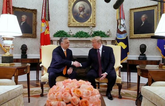 """""""Народ його поважає"""": Трамп під час зустрічі підтримав політику Орбана у всіх сферах діяльності (ФОТО, ВІДЕО)"""