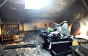 Під час пожежі у багатоповерхівці Ужгорода травмувався чоловік (ФОТО)