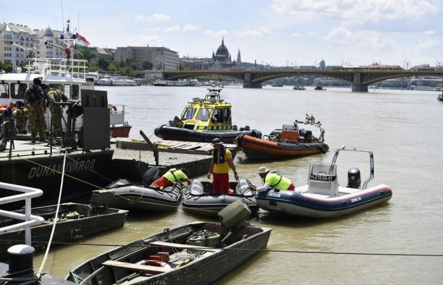 Трагедія у Будапешті: знайдено тіло 9-ої жертви зіткнення кораблів на Дунаї, інших досі шукають (ФОТО)