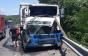 ДТП на трасі Київ — Чоп: вантажівка Volvо врізалась в причеп Iveco (ФОТО)