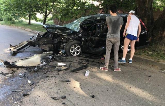 Поліція підтвердила: Свалявчанка, яка влаштувала ДТП в Ужгороді, немає посвідчення водія