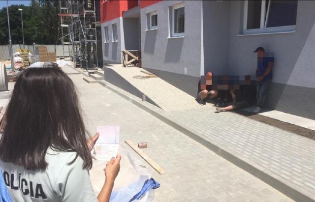 Словацька поліція вирішила депортувати 6 українських заробітчан (ФОТО)