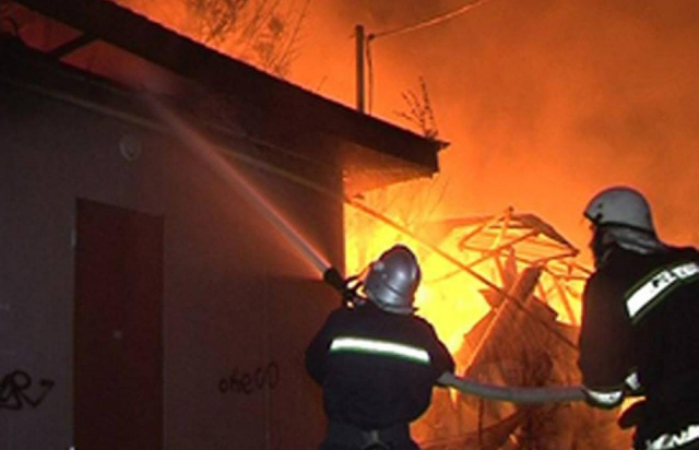 На Тячівщині під час пожежі травмувався 50-річний чоловік