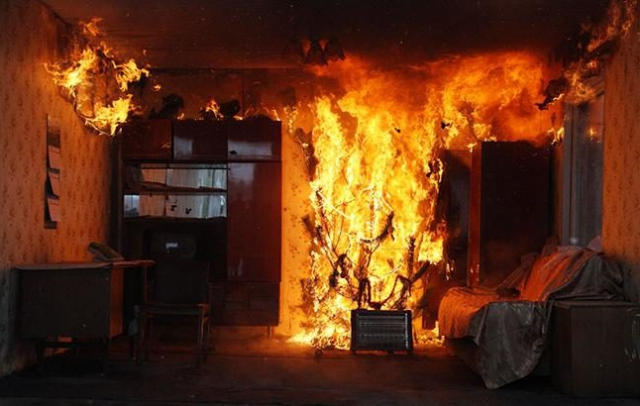 У Рахові вогонь знищив будинок