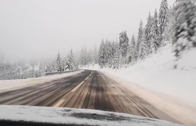Вперше за десяток років у румунських Карпатах випав літній сніг