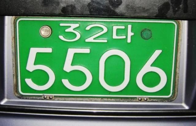 В Україні з'являться зелені автомобільні номери