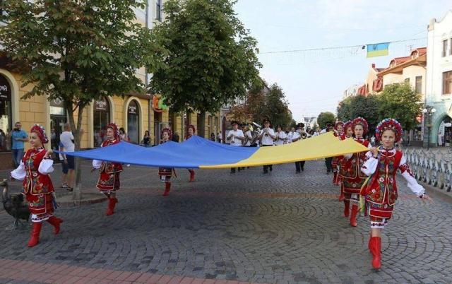 Програма заходів на День Державного Прапора та Незалежності країни у Мукачеві