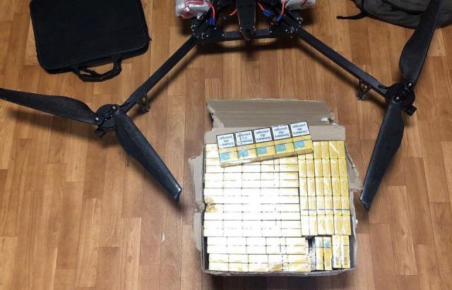 Повітряний шлях: На Закарпатті ловили контрабандистів з квадрокоптером (ФОТО)