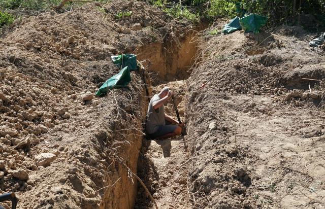 В Ужгороді проводять пошук останків німецьких військових (ФОТО)