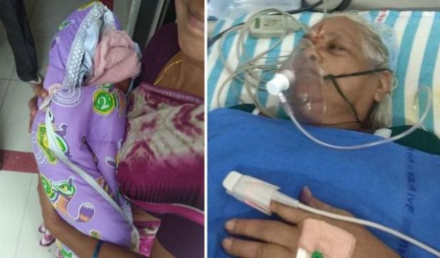 73-річна бабуся народила двійню (ФОТО)