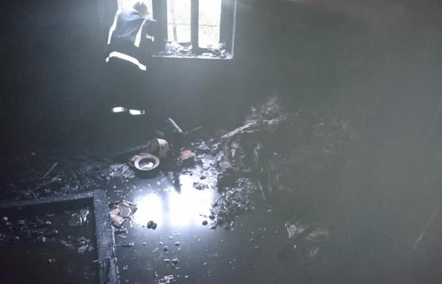 На Берегівщині у вогні загинув чоловік (ФОТО)