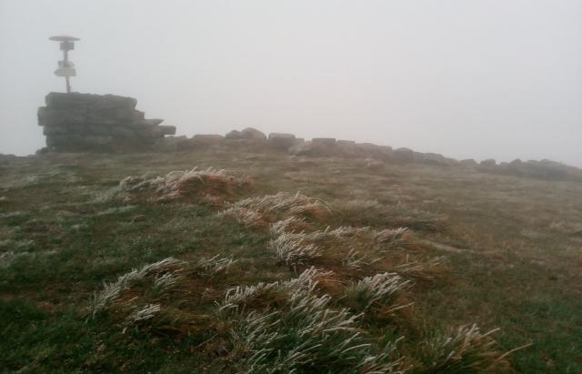 У Карпатах падає перший сніг (ФОТО)