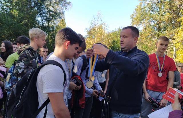 В Мукачеві відбулась спартакіада між старшокласниками (ФОТО)