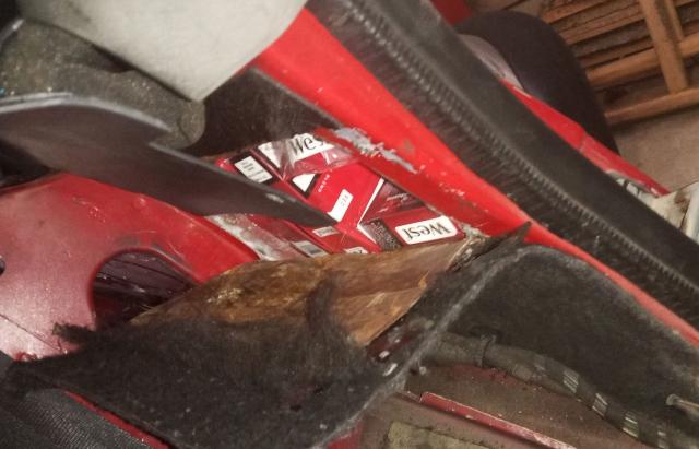 Поляк втратив на Закарпатті Audi через контрабандні сигарети
