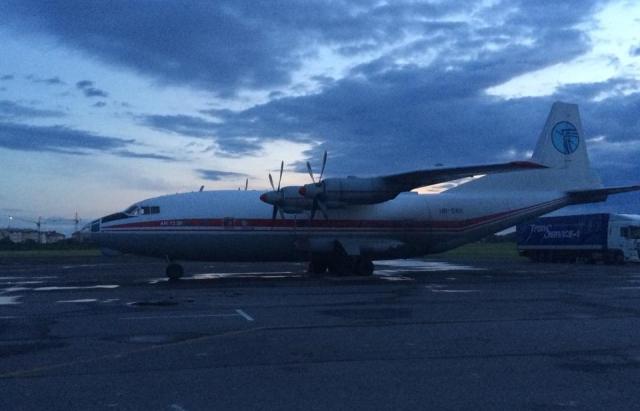 Літак, який аварійно сів під Львовом, свого часу скандально засвітився на Закарпатті (ФОТО)