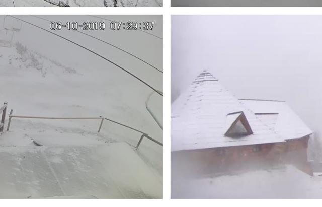 Відомі лижні курорти в Карпатах вкриває снігом (ФОТО)