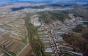 Фото дня: поліетиленова долина на Закарпатті з висоти пташиного польоту