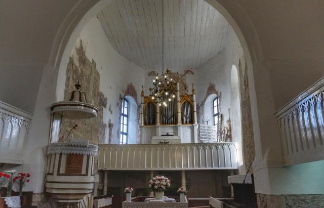 У церкві Вишкова виявили мурал XIV століття (ФОТО)
