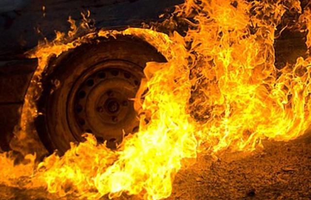 На Іршавщині згорів Mercedes Sprinter