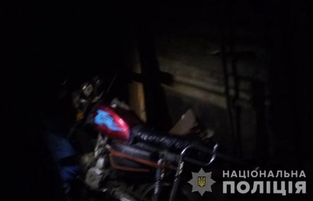 Сів та поїхав: На Рахівщині 18-річний хлопець вкрав Мотоцикл ALFA (ФОТО)