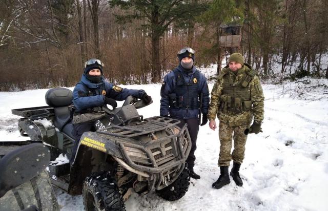Нацгвардія допомагатиме на Ужгородщині охороняти державний кордон