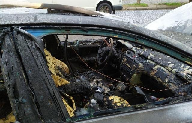Поліція розслідує підпал автомобіля в Мукачеві