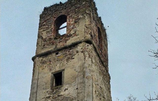 Фото дня: загублений храм XIX ст. на Іршавщині