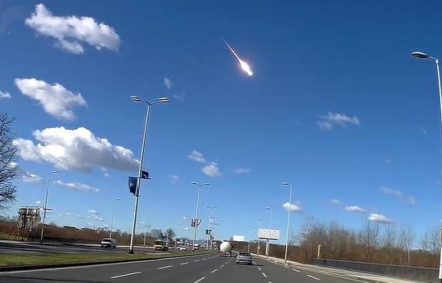Над Хорватією вибухнув метеорит (ВІДЕО)